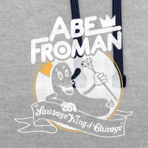 Sausage King of Chicago Abe Froman - Contrast Colour Hoodie
