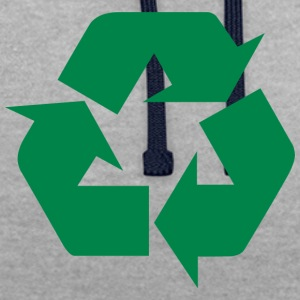 Earth Day Recycle - Sweat-shirt contraste