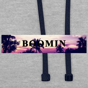 palm boomin - Sweat-shirt contraste