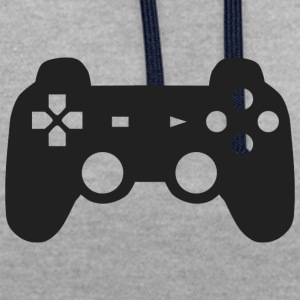 controller - Contrast Colour Hoodie