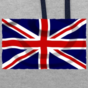 united kingdom - Contrast Colour Hoodie