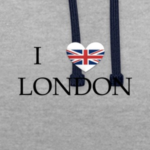 London - Contrast Colour Hoodie