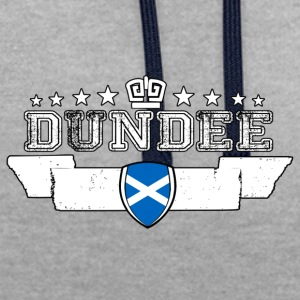 Dundee - Contrast Colour Hoodie