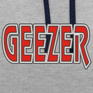 Retired GEEZER - Contrast Colour Hoodie