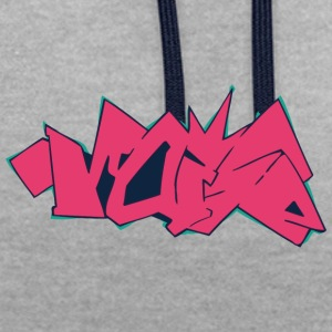 Cool street art graffiti - Contrast Colour Hoodie