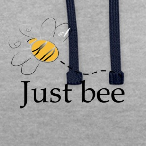 Just_bee - Contrast Colour Hoodie