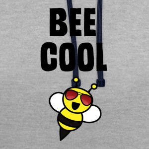 ++ ++ Bee Cool - Contrast Colour Hoodie