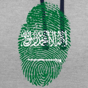 IN LOVE WITH SAUDI ARABIA - Contrast Colour Hoodie