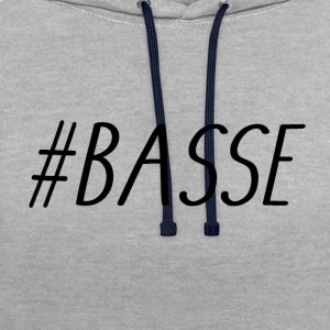 BASSE - Sweat-shirt contraste