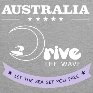 Lecteur Australie The Wave 02 - Sweat-shirt contraste