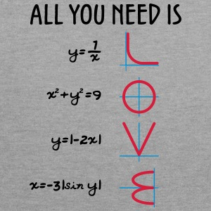 All you need is Love (Equations) - Kontrast-Hoodie