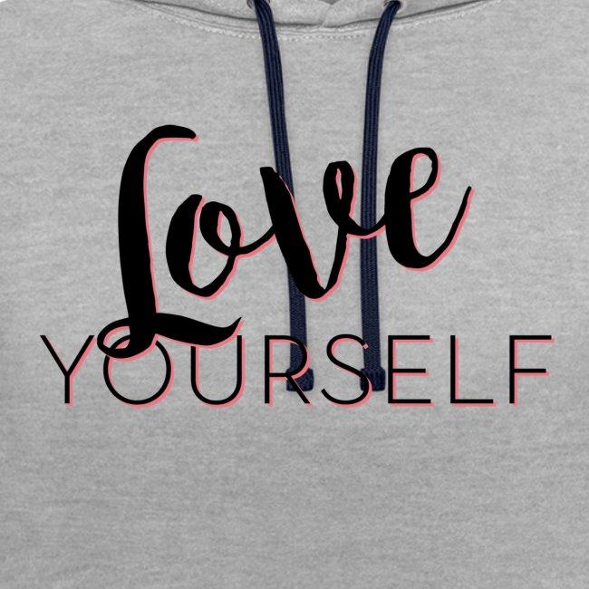 Love Yourself -Schriftzug Pascal Voggenhuber