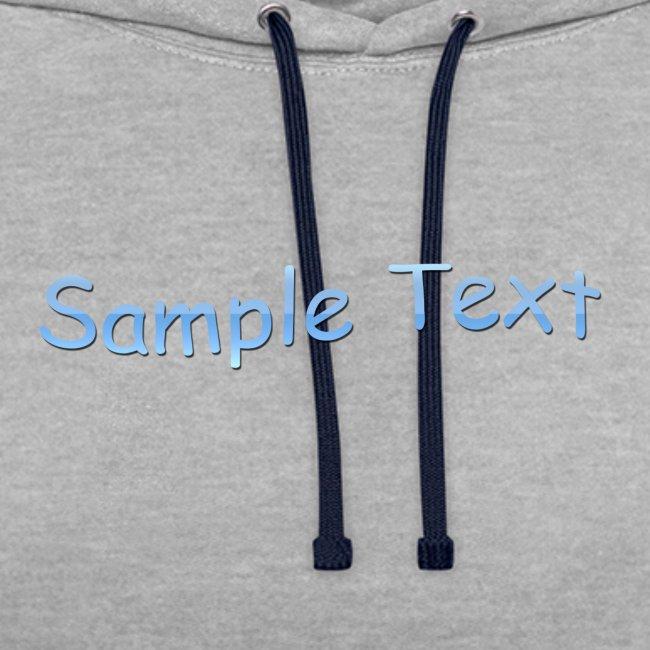 SAMPLE TEXT CAP