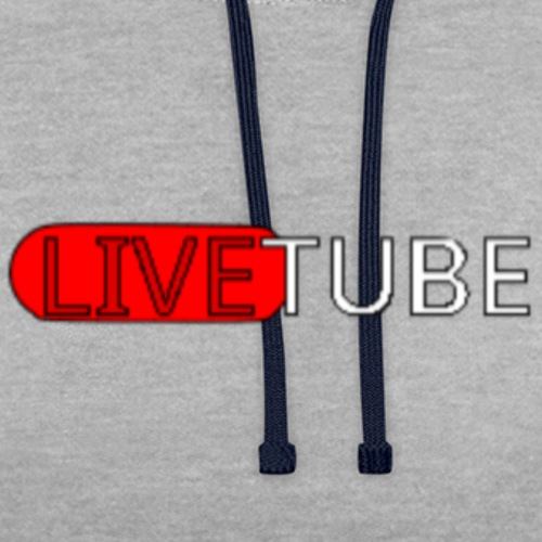 Livetube - Kontrast-hættetrøje