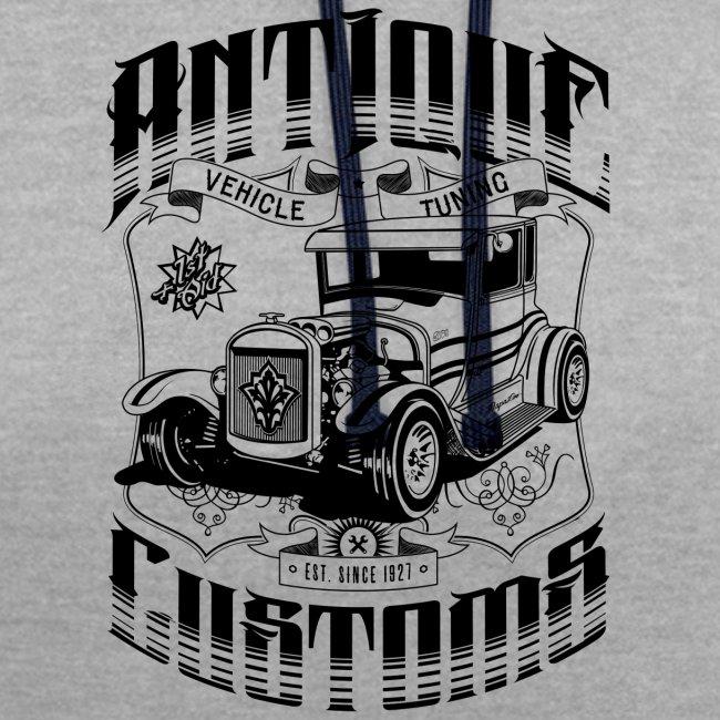 Hot Rod - Antique Customs (black)