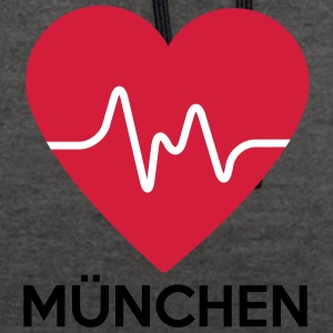 coeur de Munich - Sweat-shirt contraste
