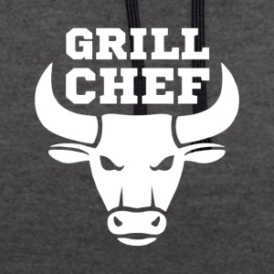 Grill T Shirt - Contrast Colour Hoodie