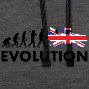 British evolution - Contrast Colour Hoodie