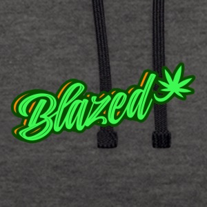 Blazed - Contrast Colour Hoodie