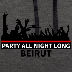 Party All Night Long Beirut - Kontrastluvtröja