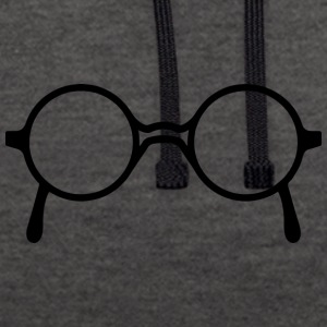 glasses - Contrast Colour Hoodie