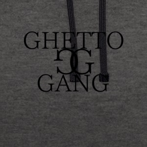 GHETTO GANG - Contrast Colour Hoodie