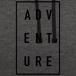 ADVENTURE - Contrast Colour Hoodie