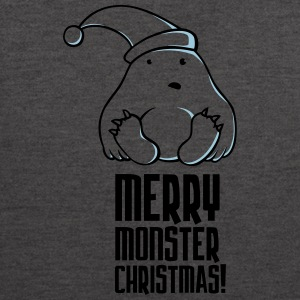 Merry Monster Christmas - Contrast Colour Hoodie