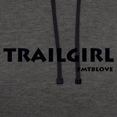 trailgirl - Kontrast-hættetrøje