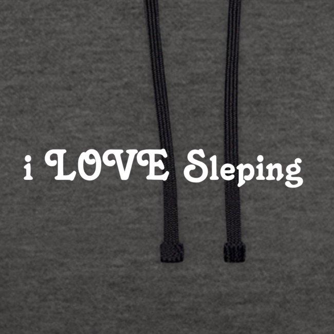 i love sleeping weiss