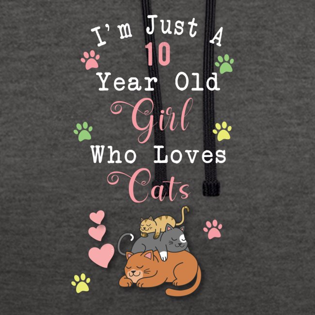 I'm just a 10 year old girl who loves cats