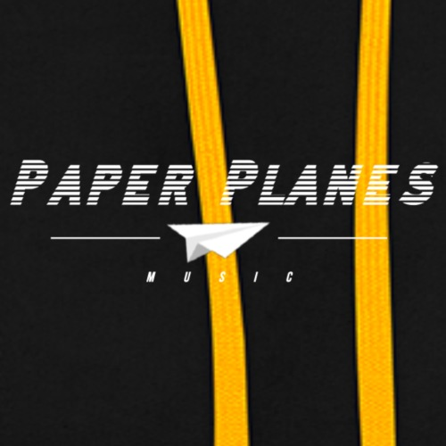 Paper Planes Music retro - Contrast hoodie