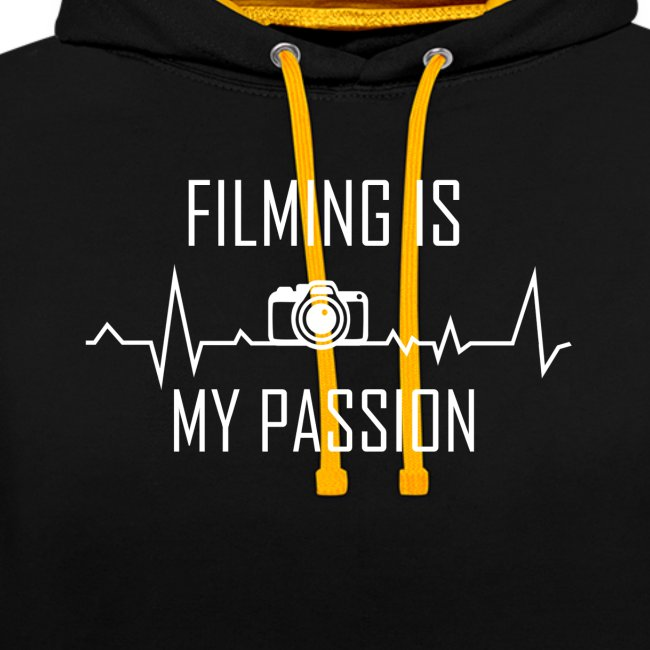"""""""filming is my passion"""" Merchandise by SPDY"""