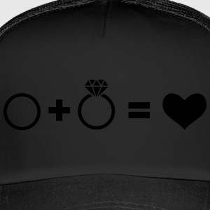 wedding rings - Trucker Cap