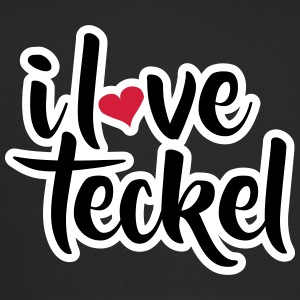 ILOVETECKEL v1 textonly - Trucker Cap