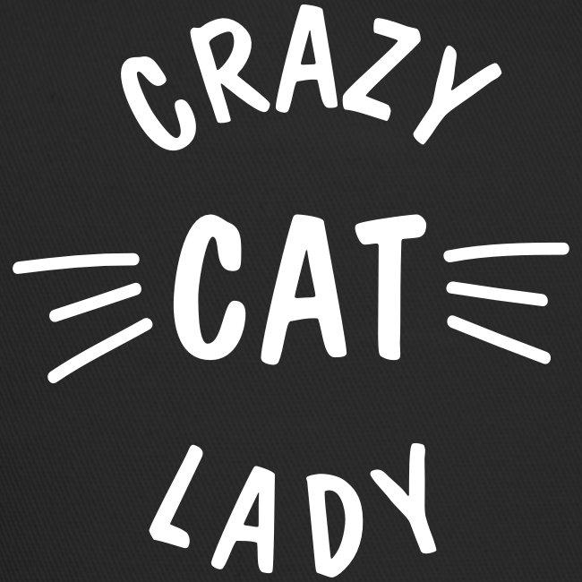 Vorschau: Crazy Cat Lady meow - Trucker Cap