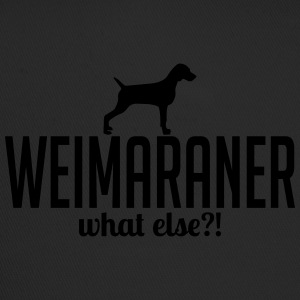 weimaraner whatelse - Trucker Cap