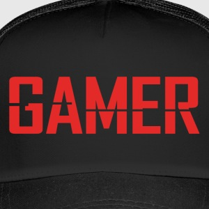 logo Gamer - Trucker Cap