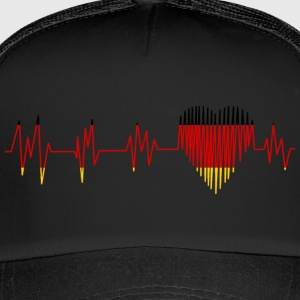 GERMANY GERMANY PULS HEART - Trucker Cap