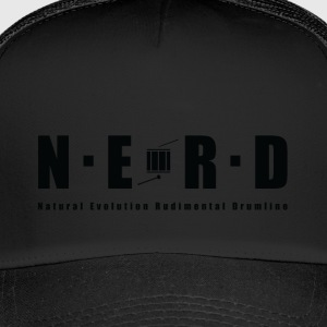 NERD BLACK - Trucker Cap