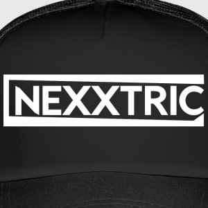 NEXXTRIC's white logo - Trucker Cap