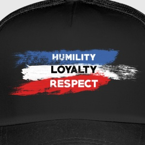 Nederigheid - Loyaliteit - Respect - Trucker Cap