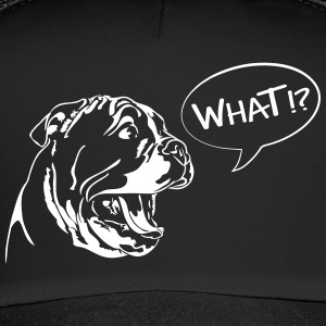 WHAT - English Bulldog Puppy - Trucker Cap