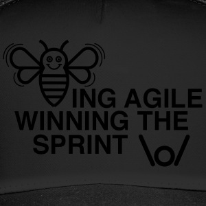 BEING AGILE WINNING THE SPRINT - Trucker Cap