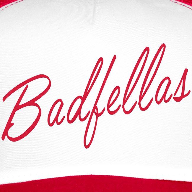 Badfellas script logo