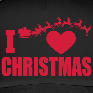 I love Christmas - Trucker Cap