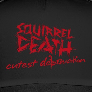 SQUIRREL DEATH - Schriftzug 'cutest deformation' - Trucker Cap