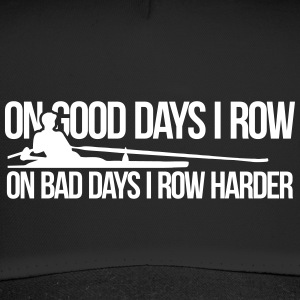 On bad days I row harder - Trucker Cap
