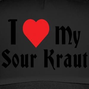 Love My Sour Kraut Zuurkool - Trucker Cap