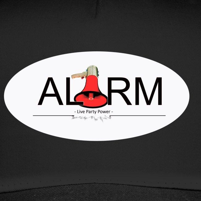 Logo auf Weiss oval